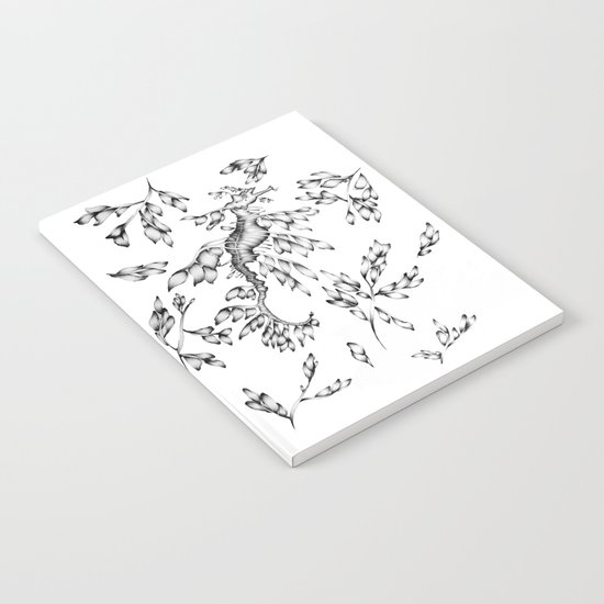 Camouflaged - the Sea Dragon Notebook