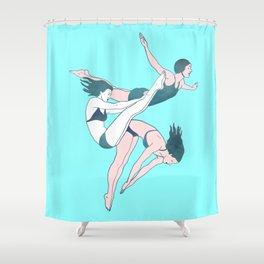 Take a Dive Shower Curtain