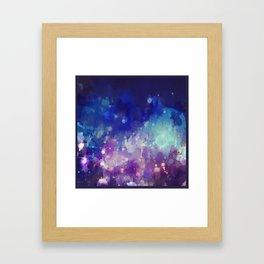 Sparkle Nights Framed Art Print