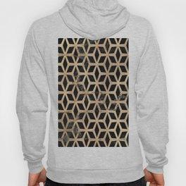 Pattern Formes Doré/Noir Hoody