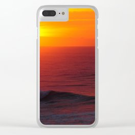Breathtaking Sunset - Casablanca Morocco Clear iPhone Case