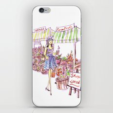 Farmer's Market iPhone & iPod Skin