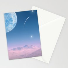 Shooting Star Stationery Cards