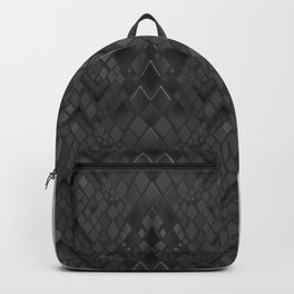 Lacing . 1 . Black and white snake. l Backpack