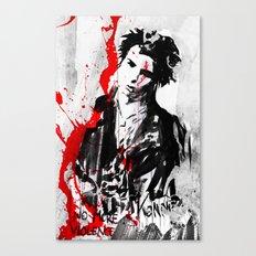 No More Violence! Canvas Print