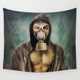The mask Wall Tapestry