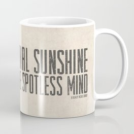 Eternal Sunshine of the Spotless Mind - Alternative Movie Poster Coffee Mug