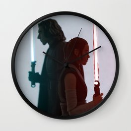 Half of the same protagonist Wall Clock