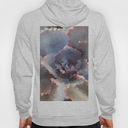 Crystallized Purple Succulent Hoody