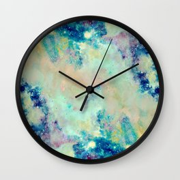 Paint & Thoughts Wall Clock