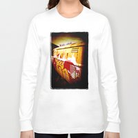 volkswagen Long Sleeve T-shirts featuring Volkswagen 99 by Justin Alan Casey