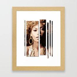 Knowles Framed Art Print