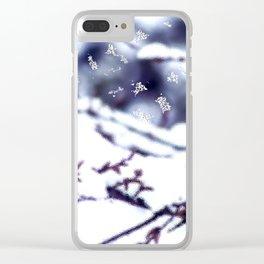 et spherae igitur nix Clear iPhone Case