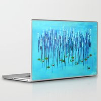 martini Laptop & iPad Skins featuring :: Blue Martini :: by :: GaleStorm Artworks ::