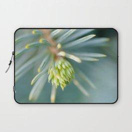Tip of the fir tree branch Laptop Sleeve