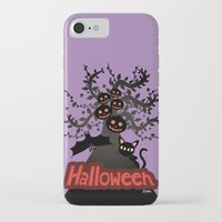halloween iPhone & iPod Cases featuring Halloween by BATKEI