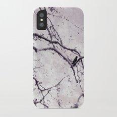 Winter Crow Slim Case iPhone X