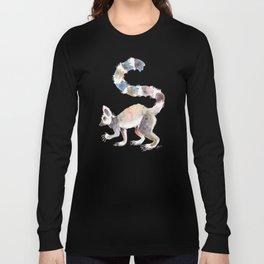 Splotchy Lemur Long Sleeve T-shirt