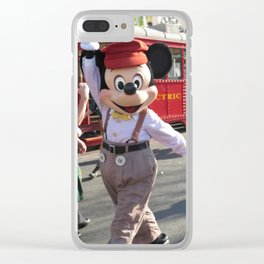 A Suitcase and a Dream Clear iPhone Case