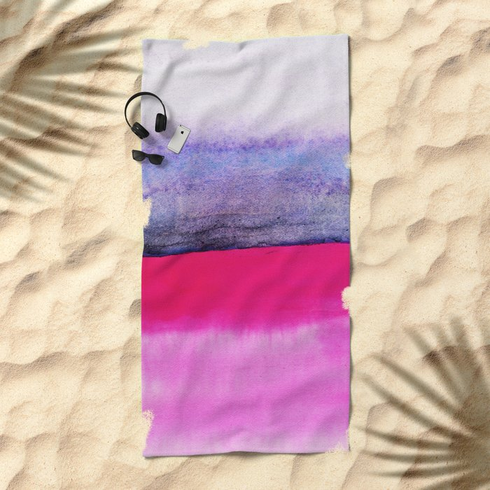 Abstract Landscape 92 Beach Towel