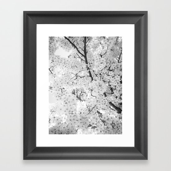 Spring is here to stay Framed Art Print