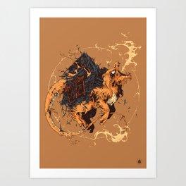 Charmnder Art Print