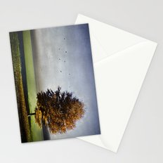dressed in autumn Stationery Cards