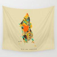 rio Wall Tapestries featuring Rio  by Nicksman