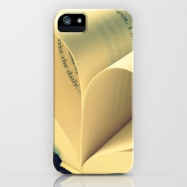 Open Book iPhone Case