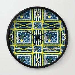 Glow Bugs. Wall Clock