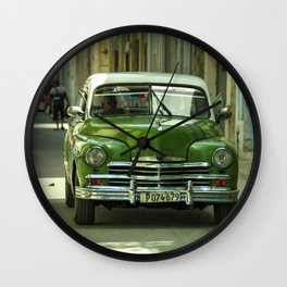 Vintage Plymouth  Wall Clock