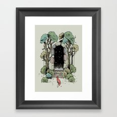 Forest Gate Framed Art Print