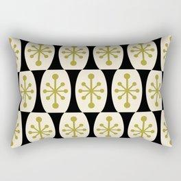 Mid Century Modern Atomic Fusion Pattern 107 Rectangular Pillow