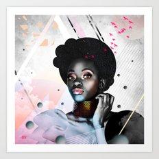 Judy Art Print