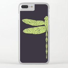 The dragonfly is not envoius Clear iPhone Case