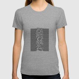 Unknown Pleasures (Black Lines) T-shirt