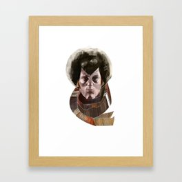 The 4th Doctor Framed Art Print