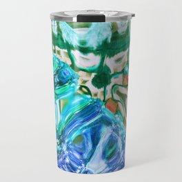 427 - Abstract glass design Travel Mug