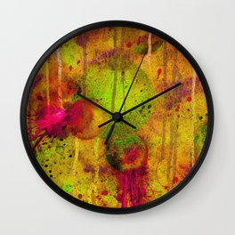 Ripe Autumnal Spheres Wall Clock