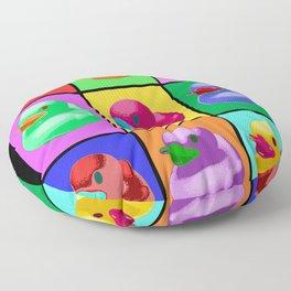 Pop Art Ducky Floor Pillow