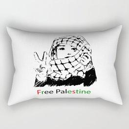 Freedom for Palestine Rectangular Pillow
