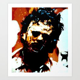 Leatherface Art Print