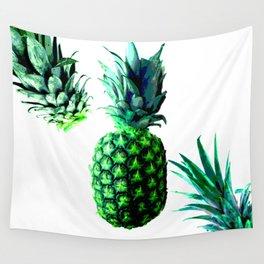 Malibu Pineapple | Anana Exotic Wall Tapestry