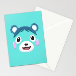 Animal Crossing Bluebear the Cub Stationery Cards