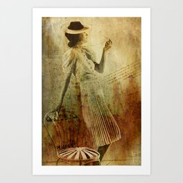 In Vogue Art Print