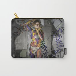 Grey Lights Carry-All Pouch