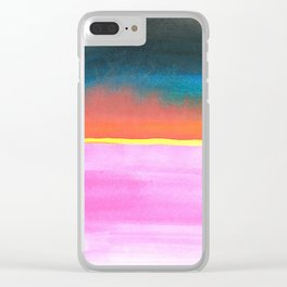 skyscapes 12 Clear iPhone Case