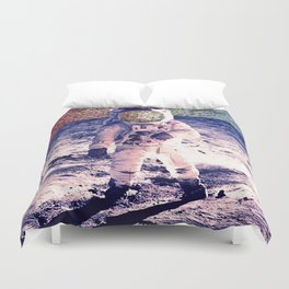 Space Static Duvet Cover
