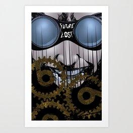 Doktor Who? Art Print