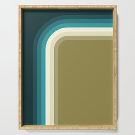 Graphic 876 // Cool & Drab Bend Serving Tray
